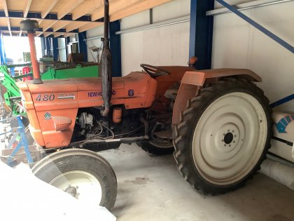 Tractor- Fiat 480 special