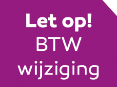 Highlighted image: BTW wijziging